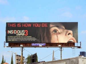 Insidious chapter 3 movie billboard