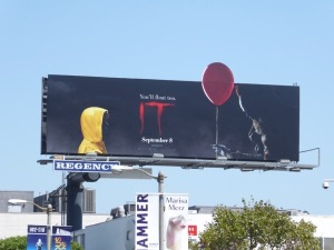 IT movie remake billboard
